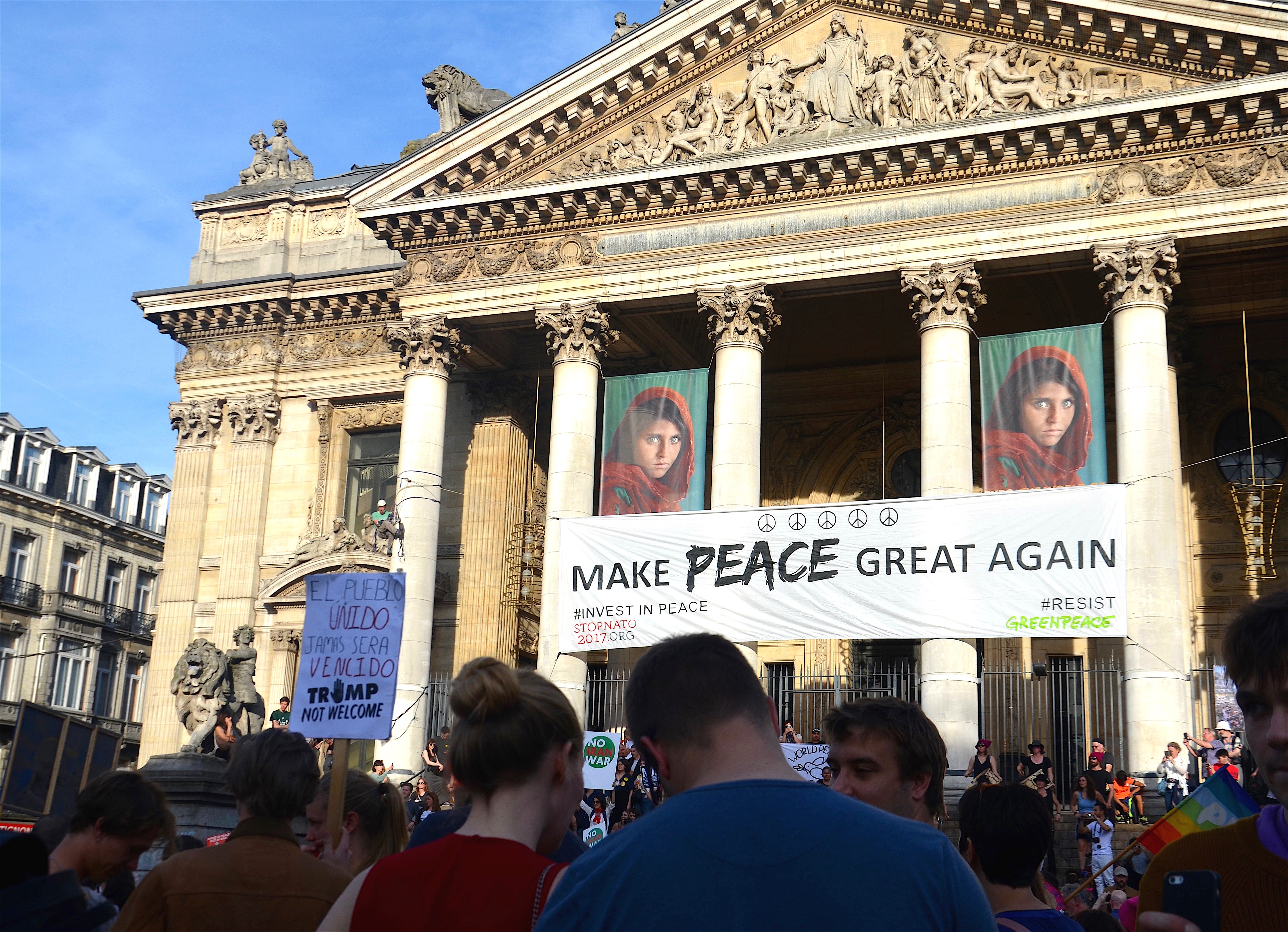 Make peace great again Foto Viviane Vaz